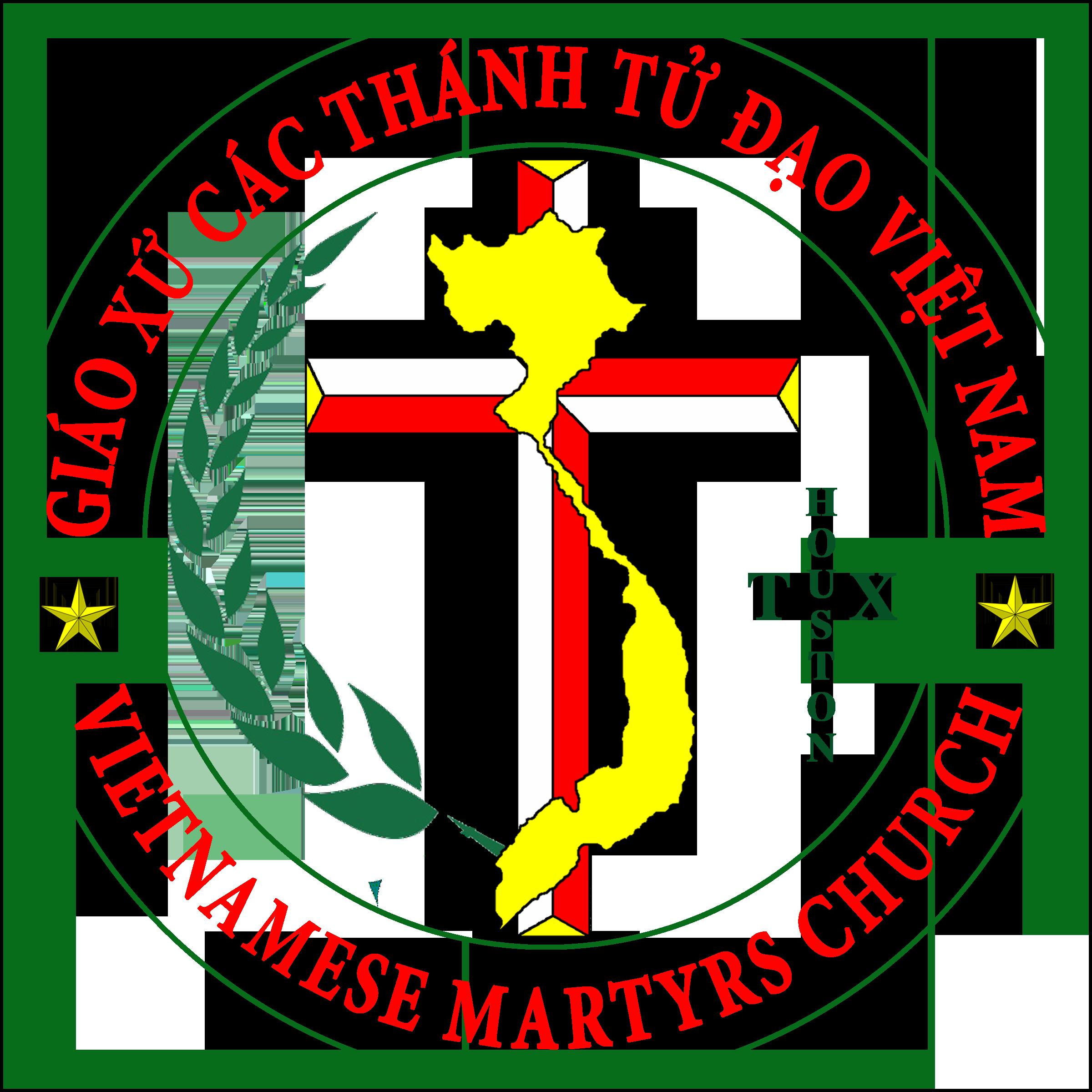Logo for Giáo Xứ Các Thánh Tử Đạo Việt Nam Houston